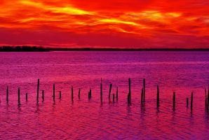 Red Texas Sky by SublimeBudd
