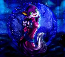 :: Glitter The Fox :: by Niina-xan