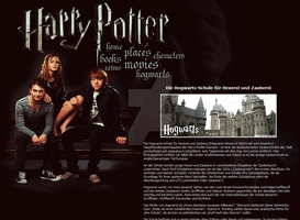 Harry Potter Layout by remember-the-silence