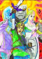 The Legend of Zelda Skyward Sword by Villaman89