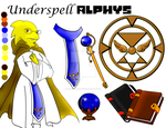 UnderSpell - Alphys +Reference+ by EliHedgie95