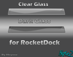 Glass Clear and Dark by Heyvoz