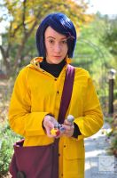 Coraline Cosplay by galaxeys