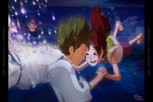 Spirited Away -Falling For You by DarkKenjie