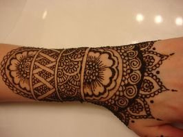 henna arm by gimmesummo