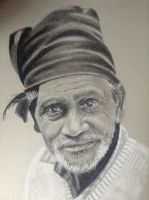 charcoal drawing by donnabe