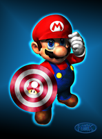 Captain Mario by darthblinx