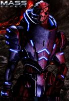 Garrus Vakarian by MaddyField