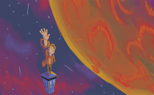 Reaching For Gallifrey by BoBleh