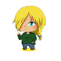 Chibi Commission - OC Marcus by Aquarika