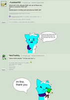 Question # 23 : Shrek plushies and tails by Punk-Mutt