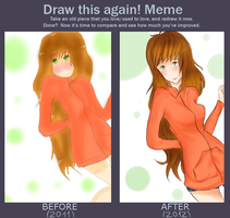 Before n After meme by 1234Tomoyo