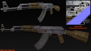 AK-47 by betasector