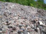 Pebbles on a shore - different focus area by cleverlittleunicorn