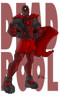 Super Dead Pool Man by ShadowMaginis