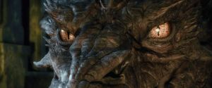 The Hobbit-Smaug Eyes by GiuseppeDiRosso