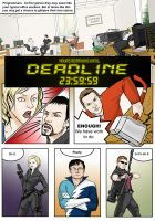 Deadline page1 by Malenloth