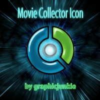 Movie Collector Glass Icon by graphicjunkie