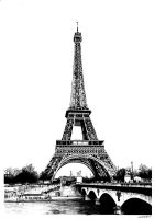 The Eiffel Tower by Wilverein