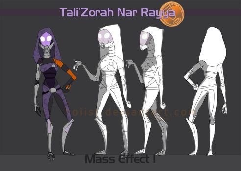 Tali: Character Sheet by hoiist