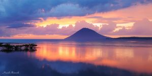 God paints Manado. by MarcelSelamat
