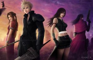 Final Fantasy VII by Angel-Dark
