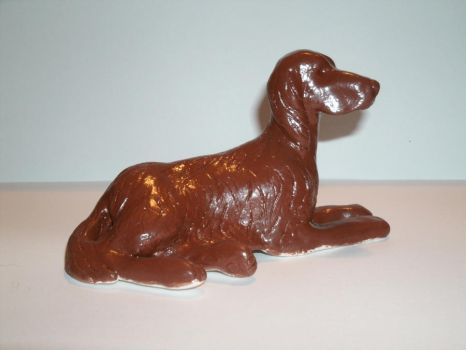 Clay Irish Setter 1 by Pataflafla-Ratamacue