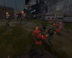 SUPER TF2 FAD BATTLE by Kugawattan