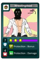 Fake Urban-Rivals Card : Wrestlingdead by Spipme