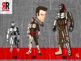 Evolution of Red Ribbon by W-Orks