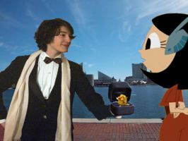 Brandon proposes to Lillian with the Golden Flower by timbox129