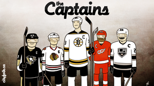 NHL Captains Wallpaper by cityfolkwebcomic