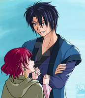 AnY - Hak and Yona by HitokiriChibi