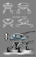 Robot Concept by radu-jm by Robot-drawing-club