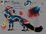 Malaika Reference by animalartist16