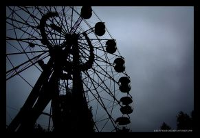 Pripyat Ferris Wheel by KasFEAR
