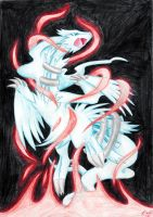 Reshiram by Eeveetachi