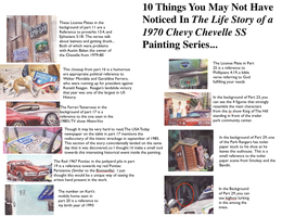 10 Things U May Have Missed In The Chevelle Story by FastLaneIllustration