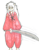 Inuyasha by snowflare123