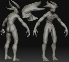 ZSphere demon WIP1 by plastictrash