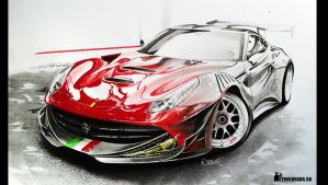 Berlinetta Unofficial racing verzion By me :D by BorosDusan