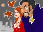 Blacula's Last Stand by Bakerdezign