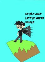 In my own little weird world by ask-kytothehero