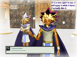 Question 1065 ~Let it Snow...in Cairo Egypt!~ by AskMMDYugi