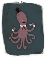 Tea Time for Mr Octopus by CaptainChants