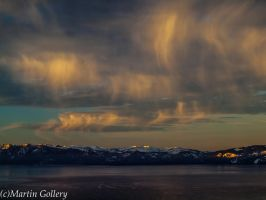 Tahoe Lookout sunrise130204-13 by MartinGollery