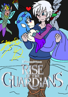 ~ROTG Fanart~ Marriage of Jack Frost and Misty by Masterstevo