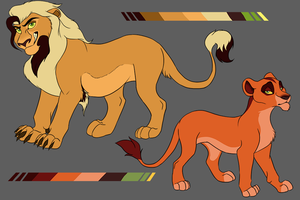 Scar x Nala Inspired Auction-Closed!! by TruLion
