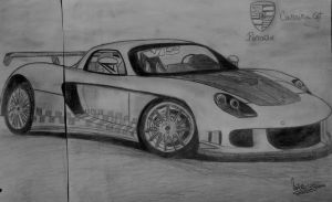 Porsche Carrera GT by natiwar02