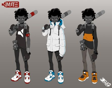 MUTE outfit designs by CLE2